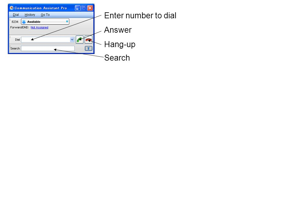 Enable voice mail Automatically start 2-way recording Use Voice Mail Assistant Only CA supports this function.