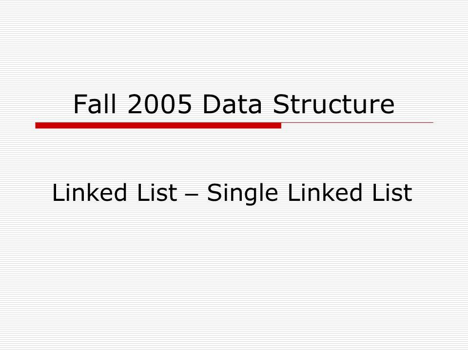 Fall 2005W.F.