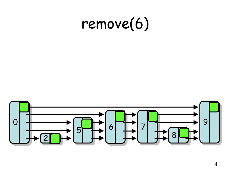 41 remove(6) 8 8 7 7 9 9 2 2 5 5 0 0 6 6 0 0 0 0 0 0