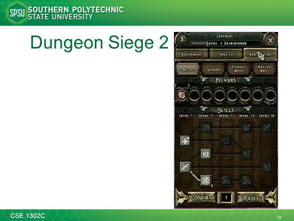 59 CSE 1302C Dungeon Siege 2