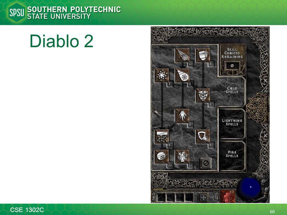 60 CSE 1302C Diablo 2