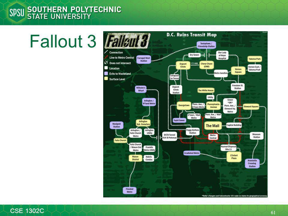 61 CSE 1302C Fallout 3