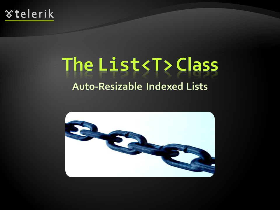 Auto-Resizable Indexed Lists