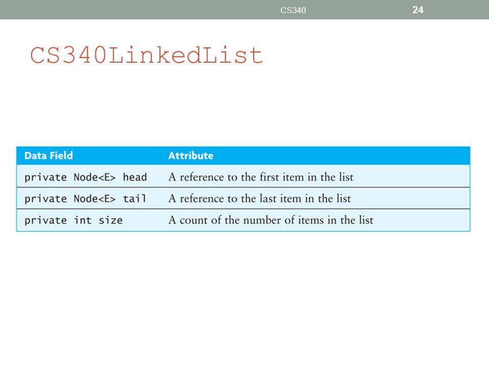 CS340LinkedList CS340 24