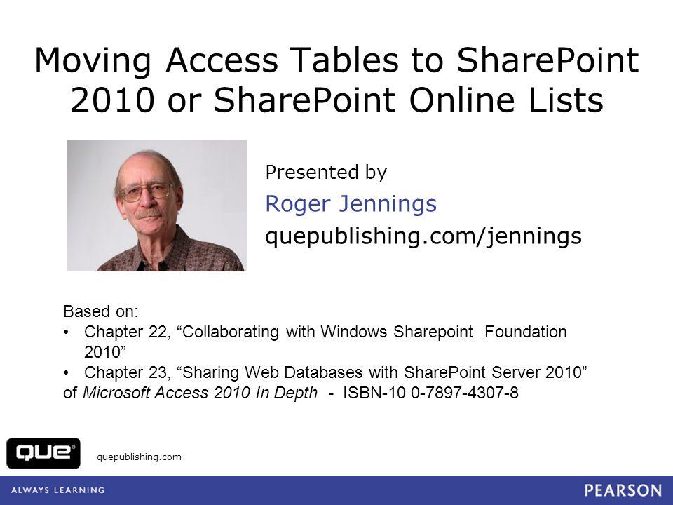 quepublishing.com Customer List Report PDF Export