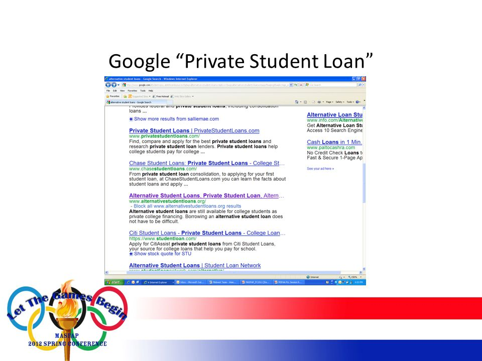Google Private Student Loan