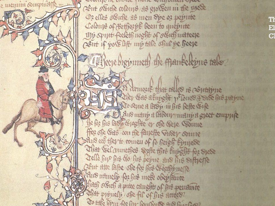 The Franklin: Ellesmere Chaucer