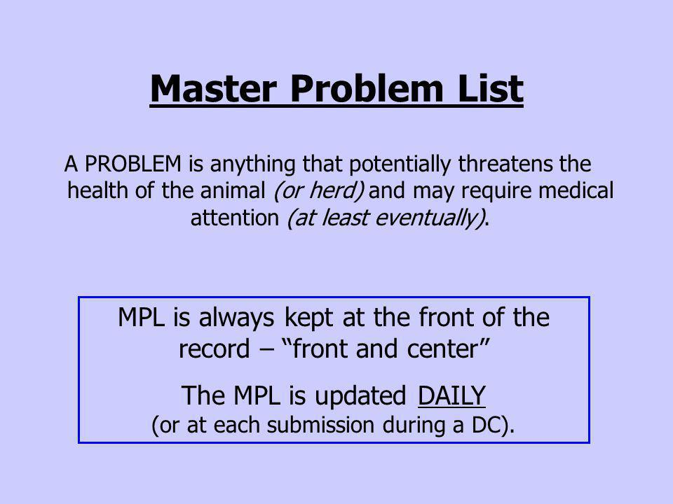 Updating & Revising MPL NEW problems are added (e.g.