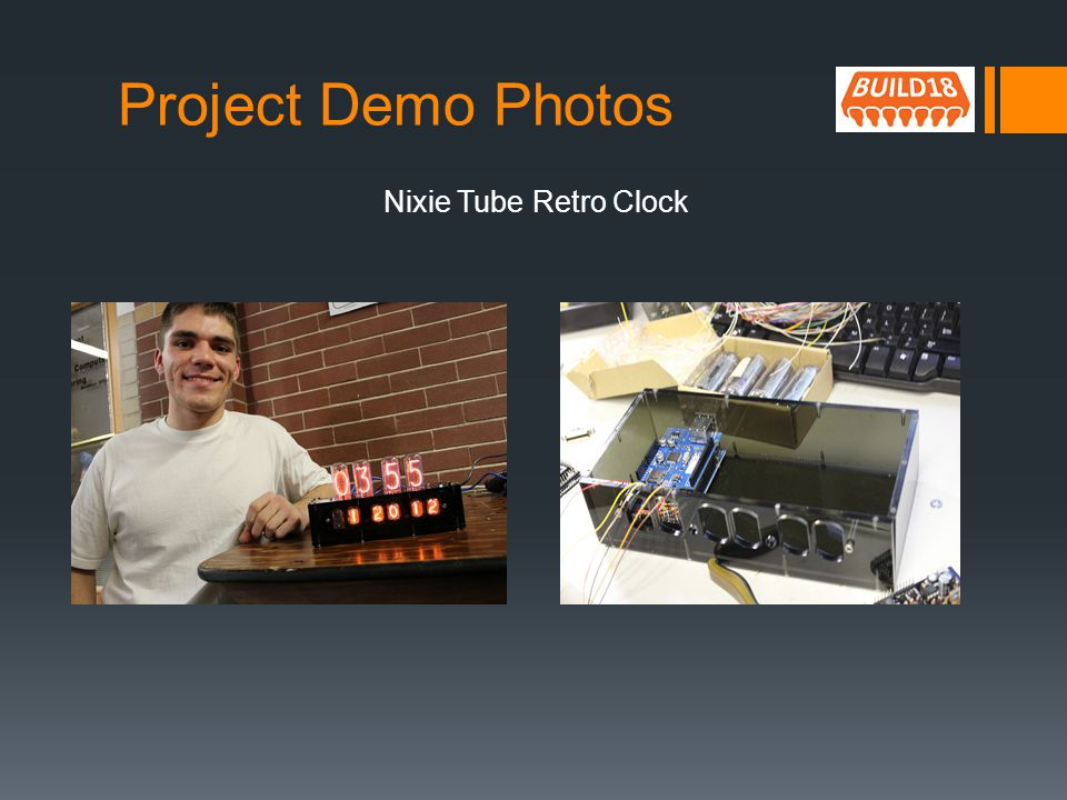 Project Demo Photos Nixie Tube Retro Clock