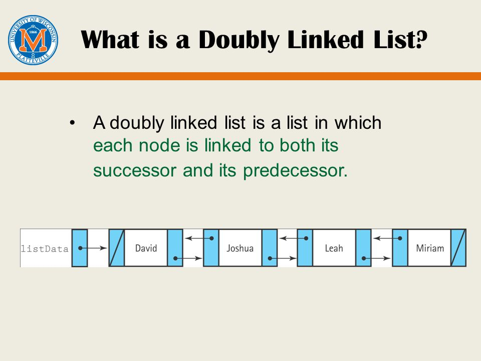 What is a Doubly Linked List.