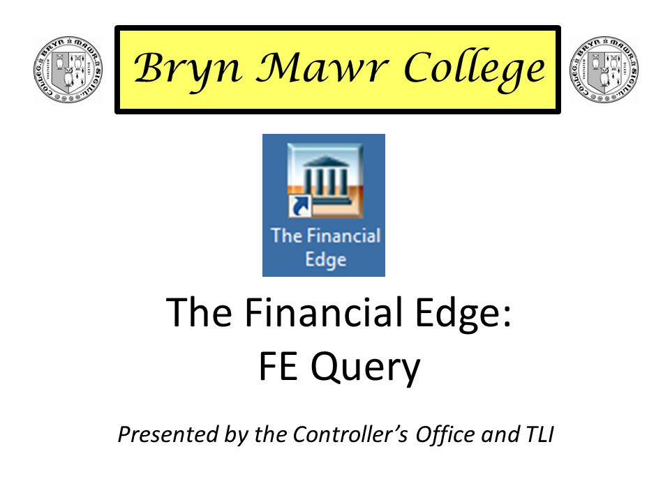 FE Query – AP Query - Overview Click on down arrow next to General Ledger & choose Accounts Payable.