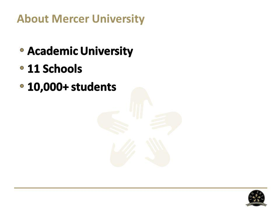 About Mercer University