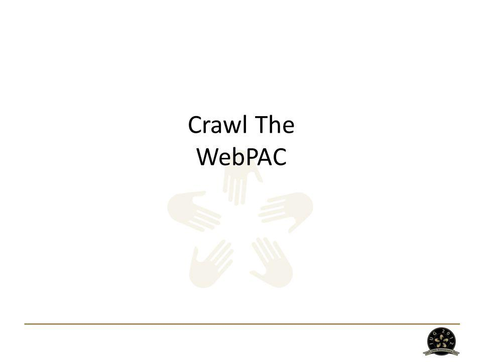Crawl The WebPAC