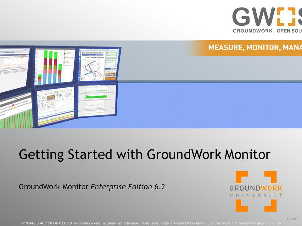 © 2009 GroundWork Open Source, Inc.