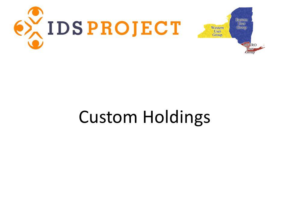 Custom Holdings