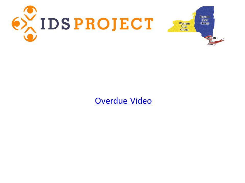 Overdue Video