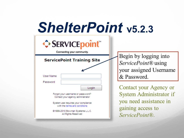 ShelterPoint v5.2.3