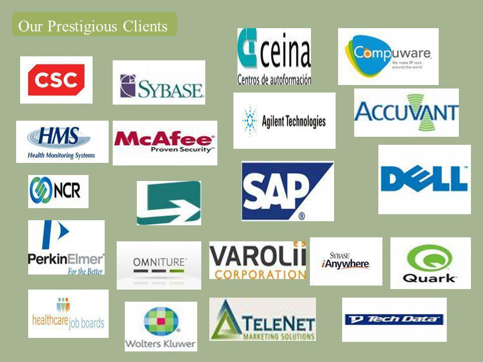 Our Prestigious Clients