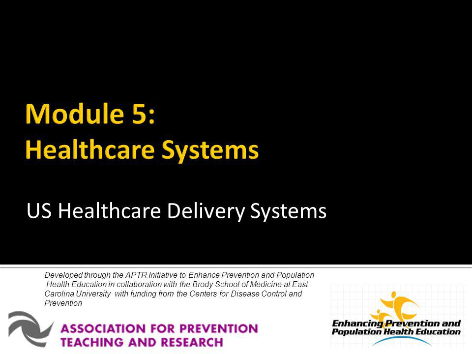 This education module is made possible through the Centers for Disease Control and Prevention (CDC) and the Association for Prevention Teaching and Research (APTR) Cooperative Agreement, No.