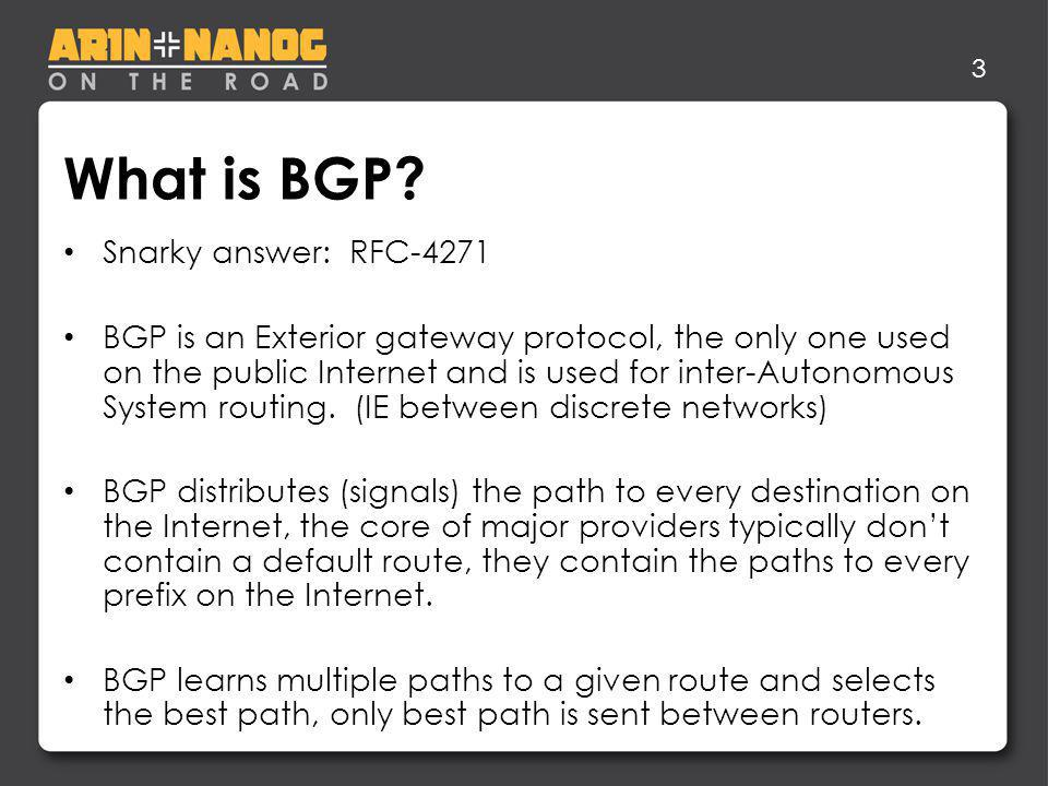 3 What is BGP.