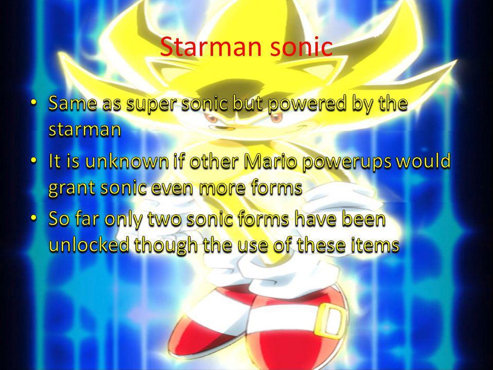 Starman sonic