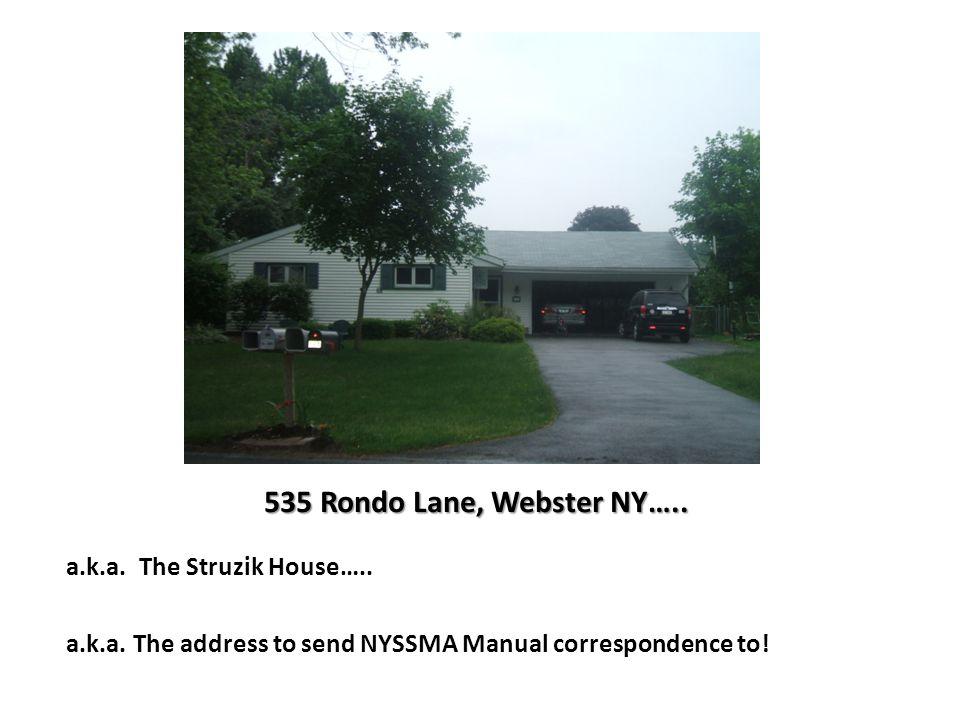 535 Rondo Lane, Webster NY…..a.k.a. The Struzik House…..
