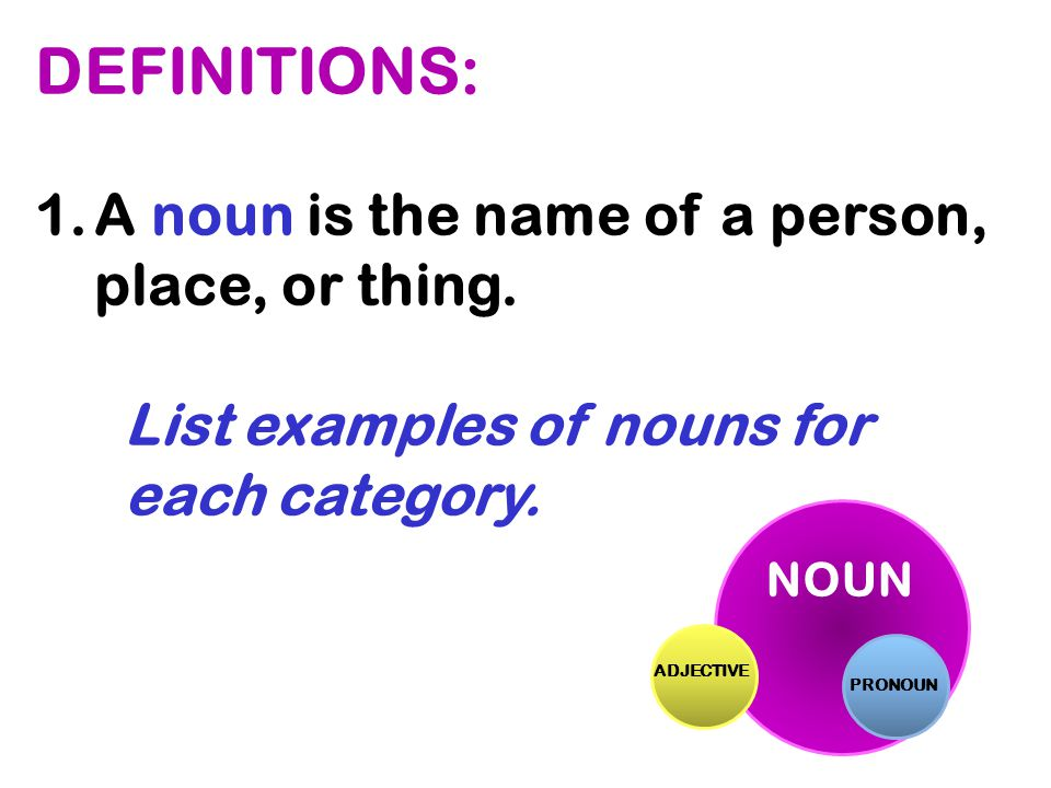 c.takes the place of nouns. d.modifies a verb, adjective, or other adverb.