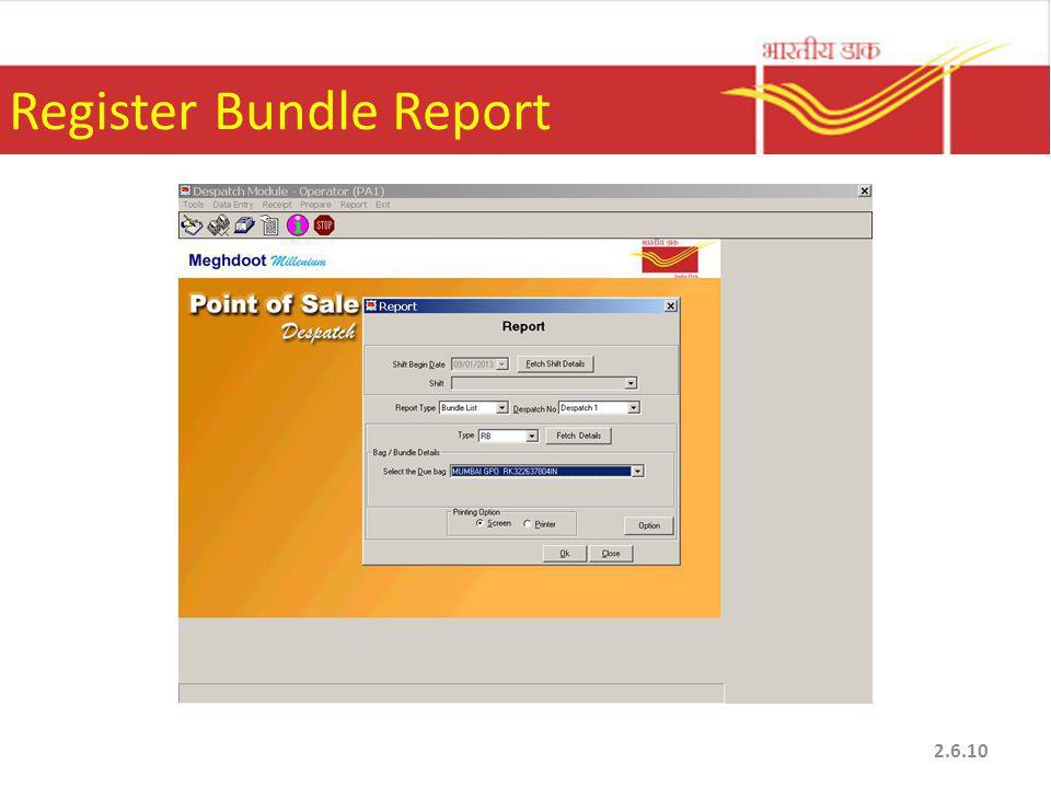 Register Bundle Report 2.6.10
