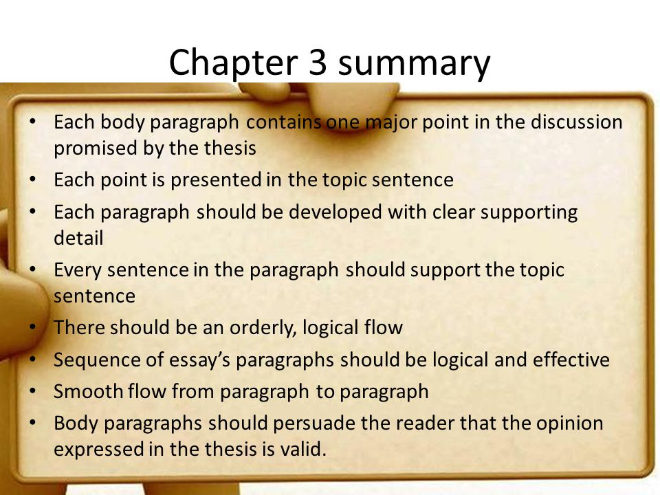 introductions thesis and conclusions