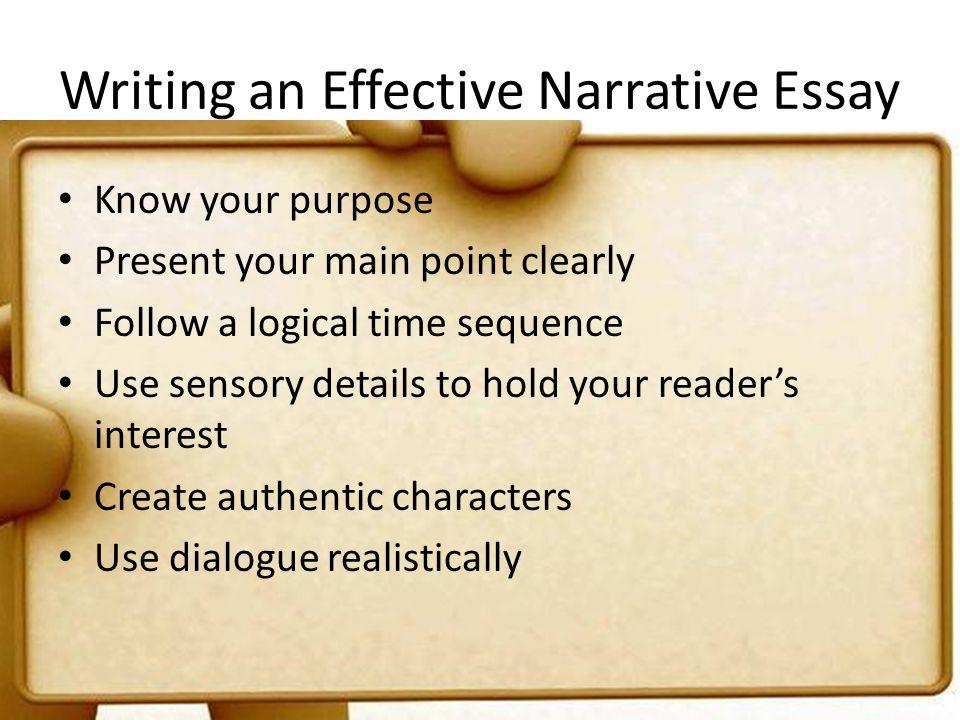 good narrative essay examples
