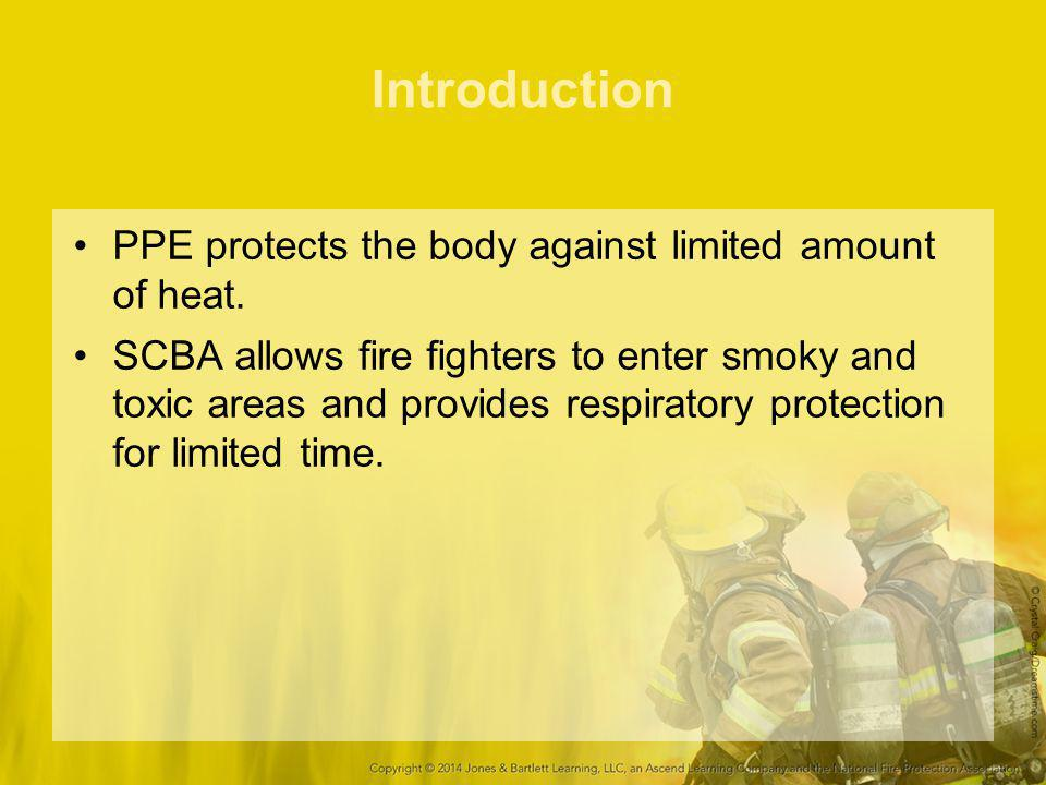 Introduction PPE protects the body against limited amount of heat.