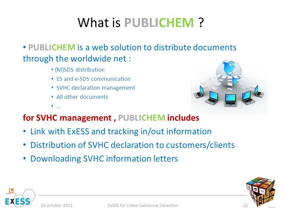 What is PUBLICHEM .