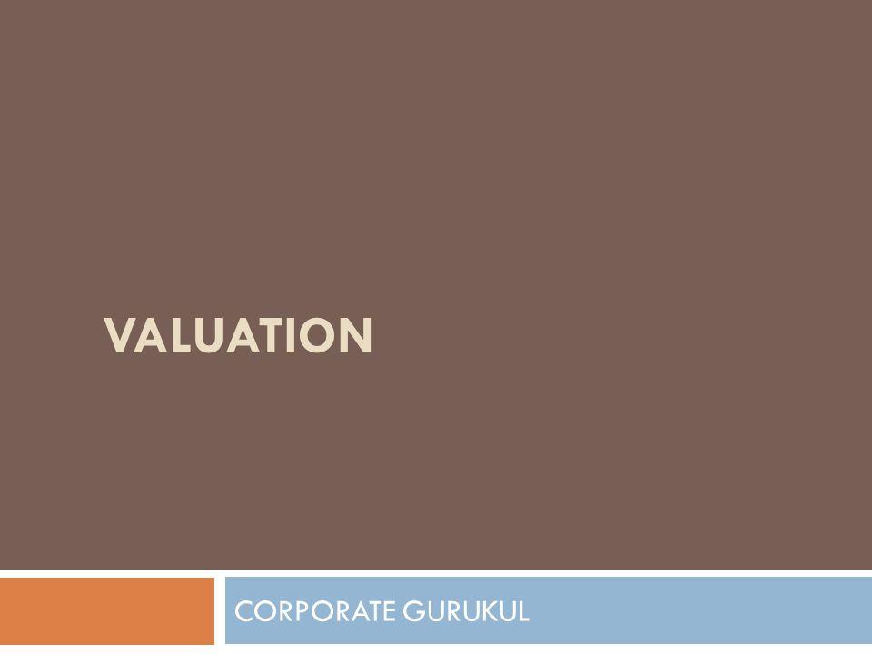 VALUATION CORPORATE GURUKUL