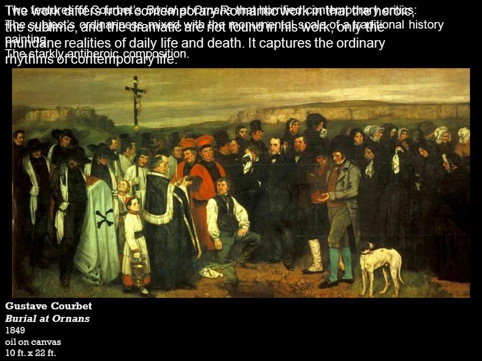 Compare Manet s Le Dejeuner sur lherbe with Giorgione/Titian s Pastoral Symphony.