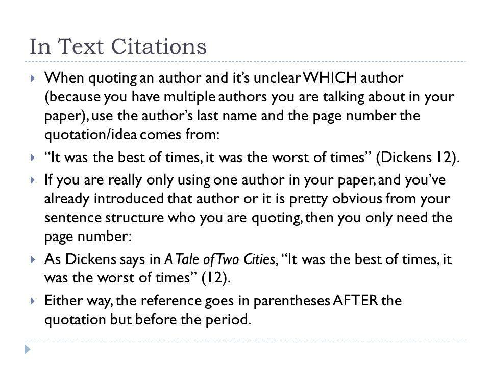 What is the correct way to reference multiple authors in an Essay (MLA)?