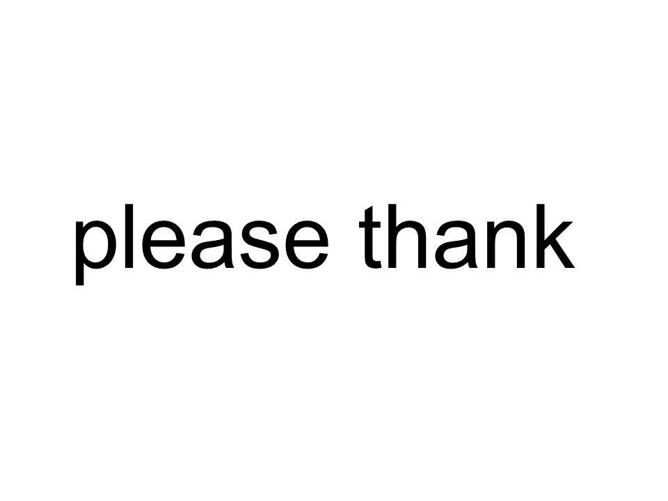 please thank