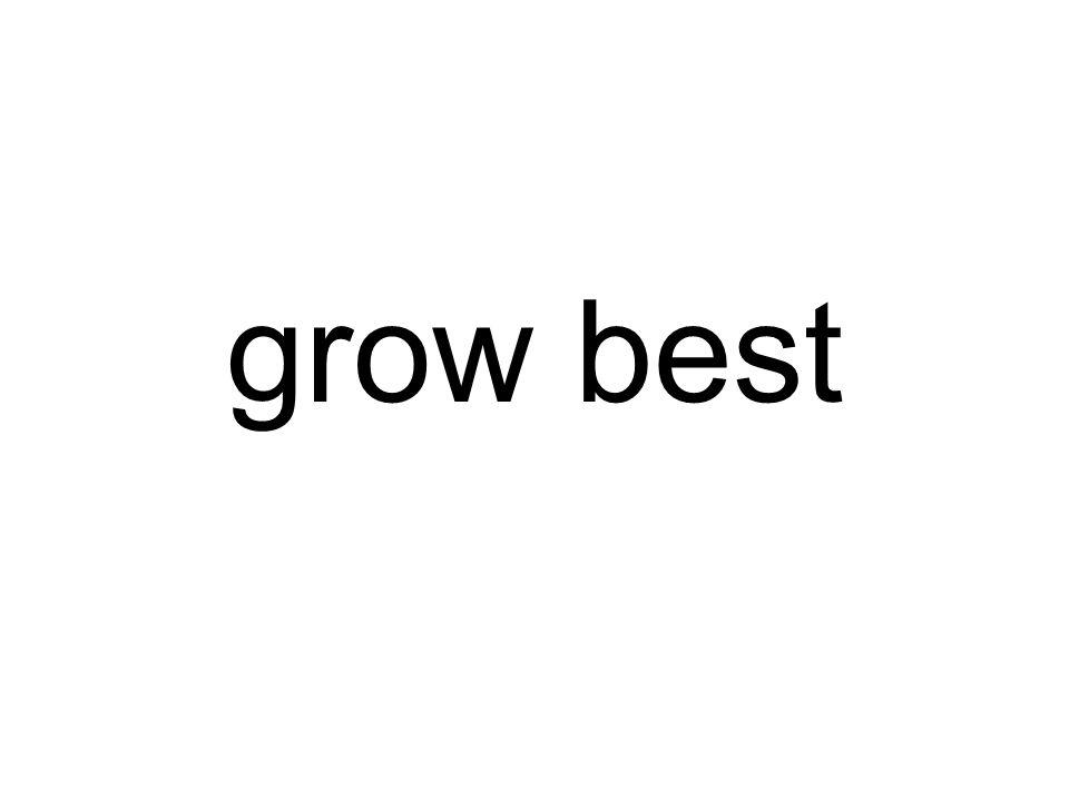 grow best