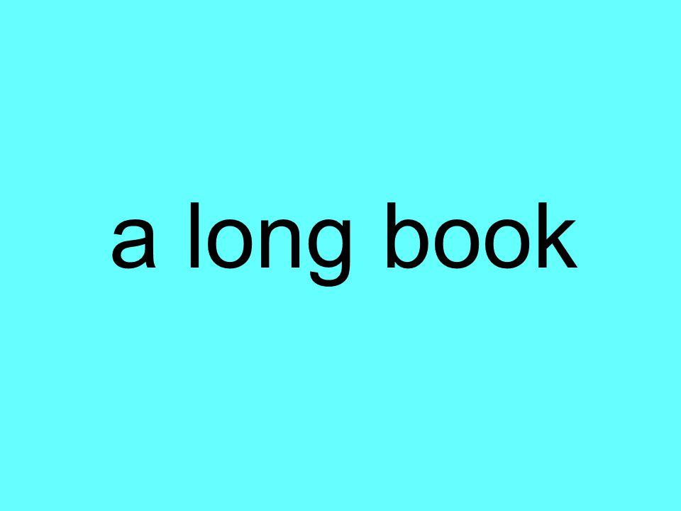 a long book