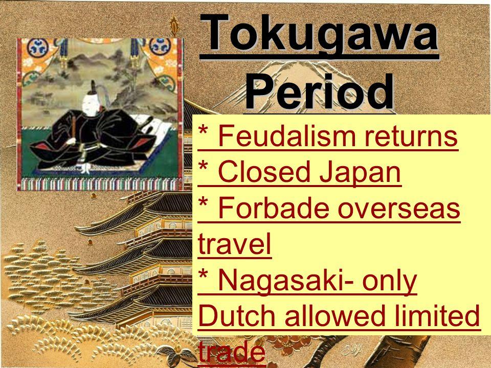Development Strains Society * Daimyo wealth in land, need $ in commercial society, samurai too * Merchants- bottom of society * Peasants- heavy taxes