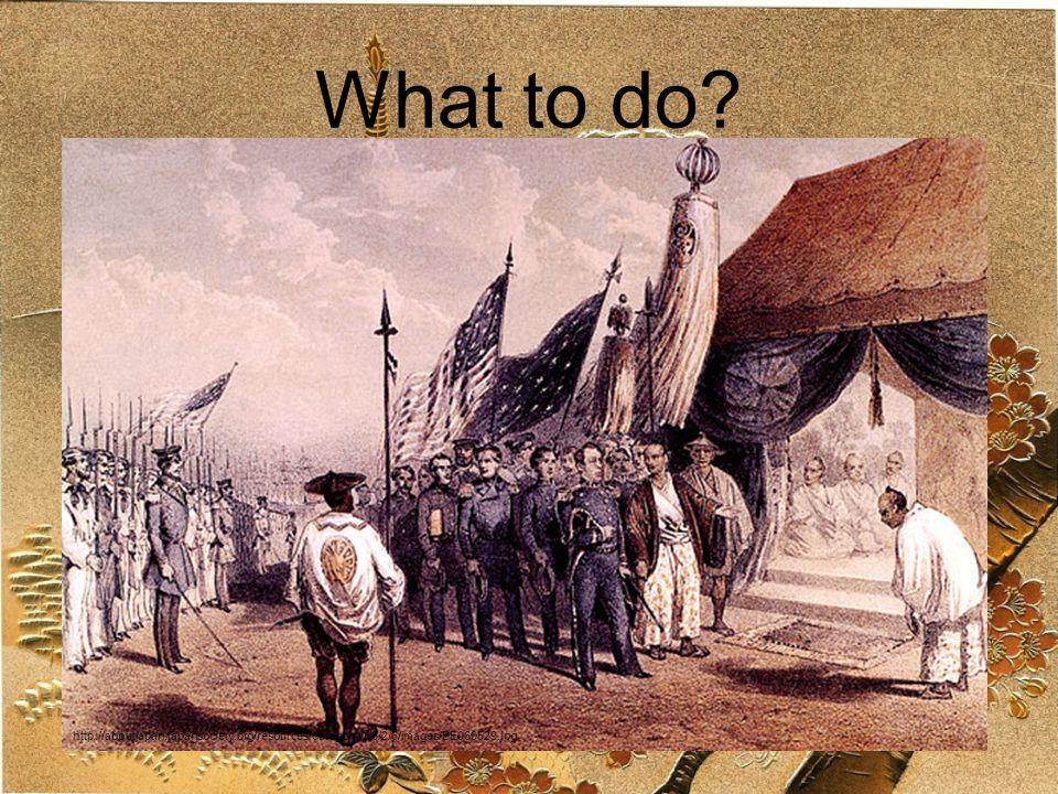 Treaty of Kanagawa, 1854 Open two ports to Americans U.S.