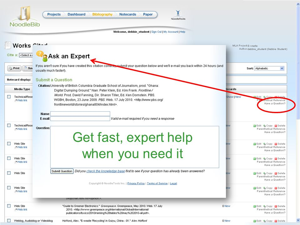 Get fast, expert help when you need it