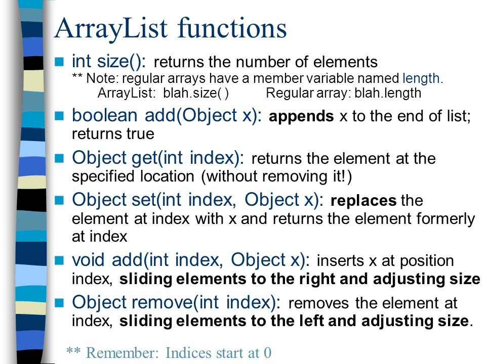Using Wrapper Classes ArrayList list = new ArrayList(); list.add(3); System.out.println(list.get(0)+ 5); Take 1: ILLEGAL: 3 is NOT an object.