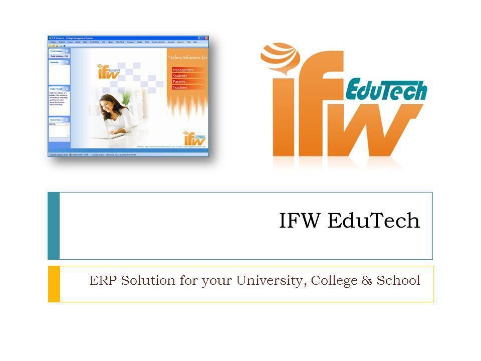 Why EduTech .