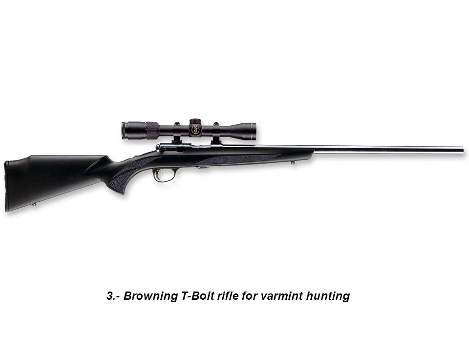 24.- Ultimate Firearms muzzleloader rifle for black powder hunting season.