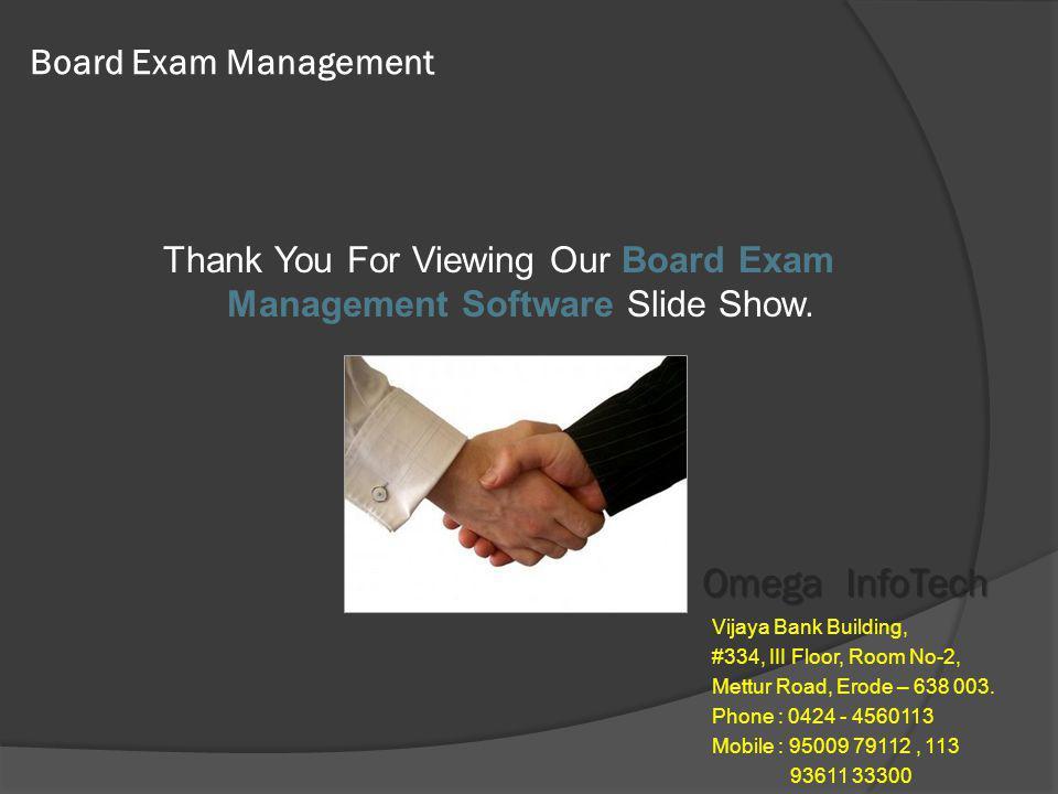 EXAM SOFTWARE - Remuneration Omega InfoTech Contact : 9500979112, 113