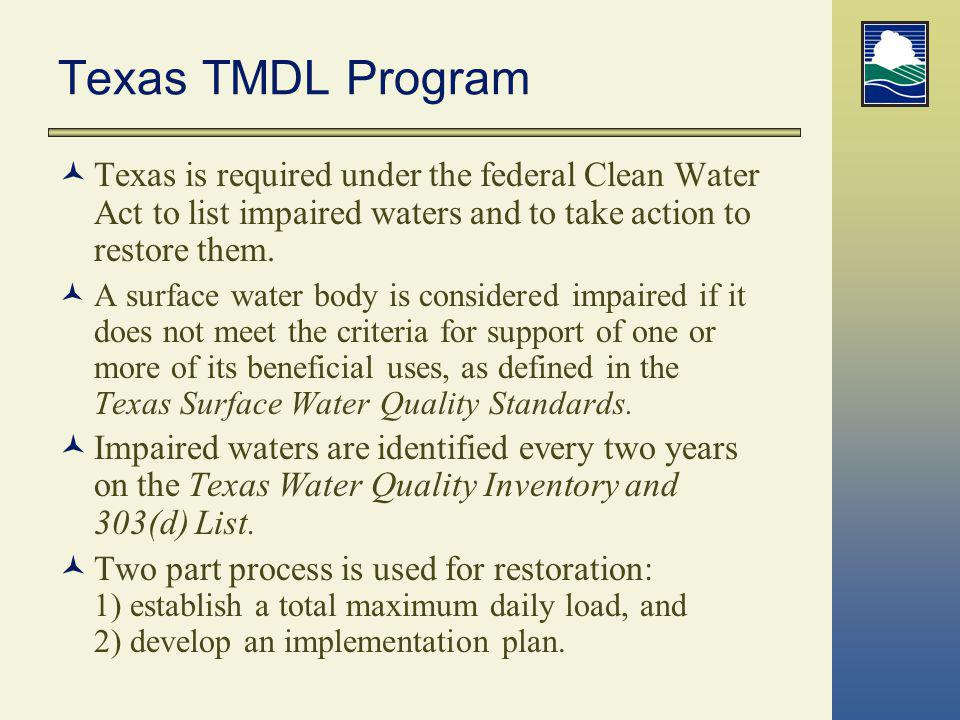 How Are Waters Assessed.