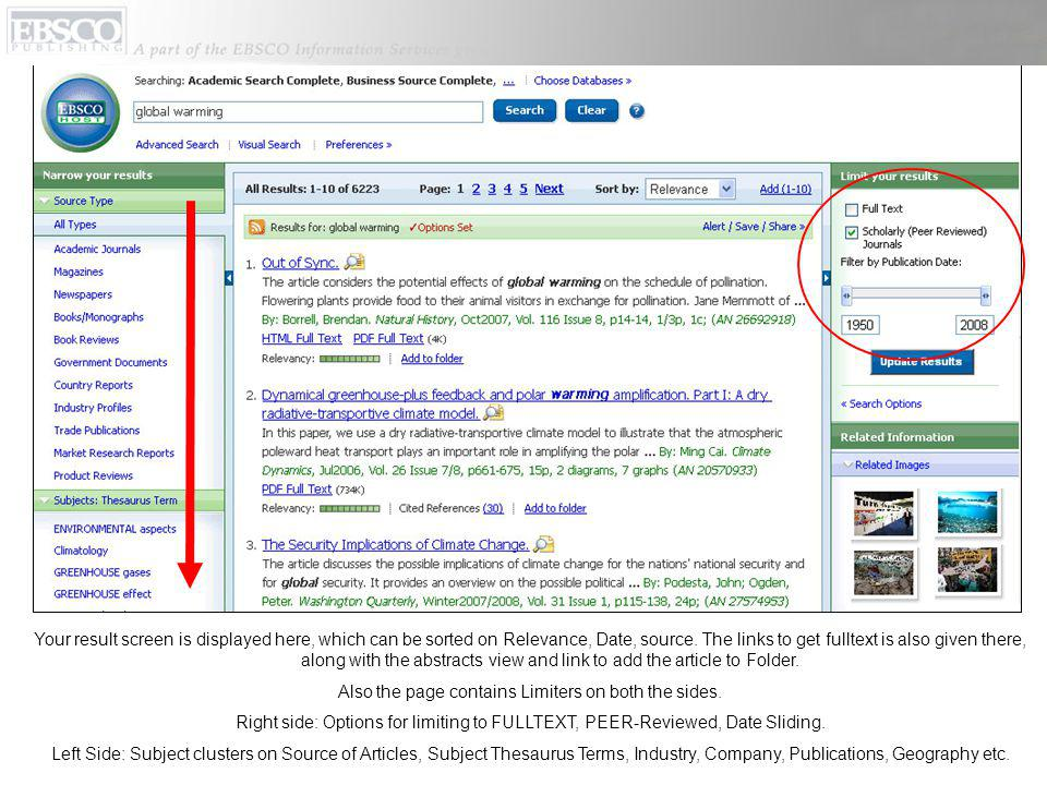 2. Advanced Search Keyword Based Searching