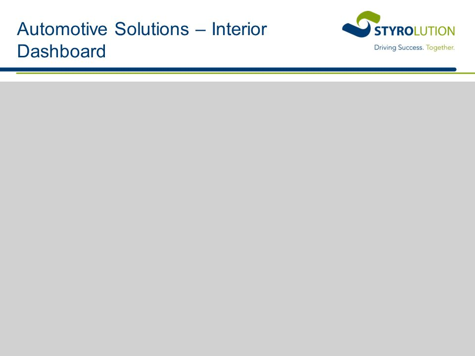 Automotive Solutions – Interior Dashboard