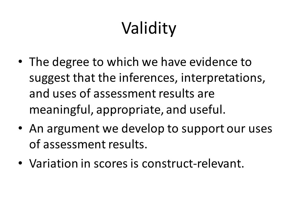 Toward Fair Assessment We can identify our own biases.