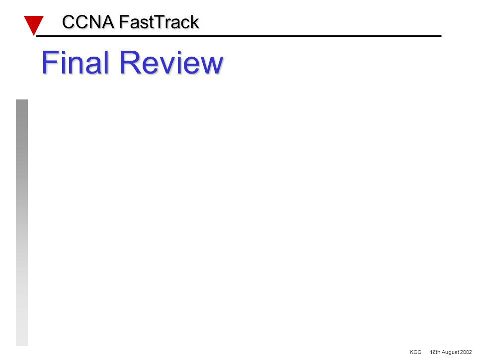 Example WAN questions CCNA FastTrack CCNA FastTrack Which authentication mode supports MD5 A PPP B PAP C CHAP D super PAP ISDN U interface is A comple